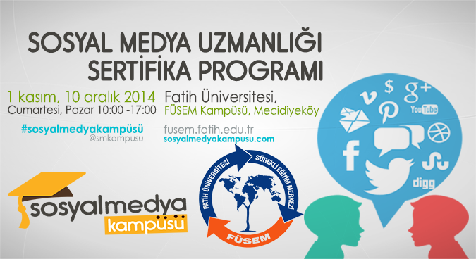 #SosyalMedyaKampüsü, En İyi Sosyal Medya Uzmanlığı Eğitimini Başlatıyor!