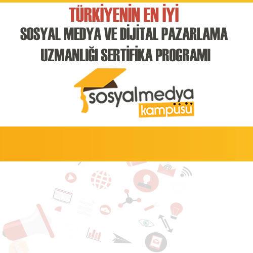 Türkiye'nin En İyi Sosyal Medya ve Dijital Pazarlama Eğitimi Başlıyor!