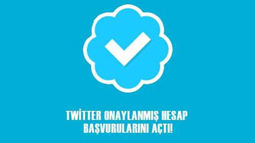 Twitter Onaylanmış Hesap Başvurularını Herkese Açtı!
