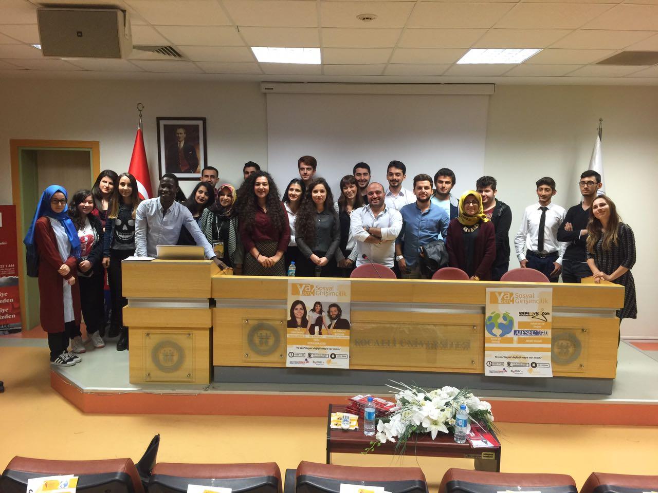 Baturay Elönü Kocaeli Üniversitesinde Yoğun ilgi Gördü