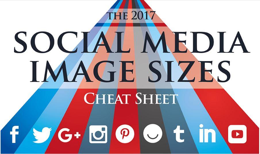 Sosyal Medya Görsel Boyutları 2017 (İNFOGRAFİK)