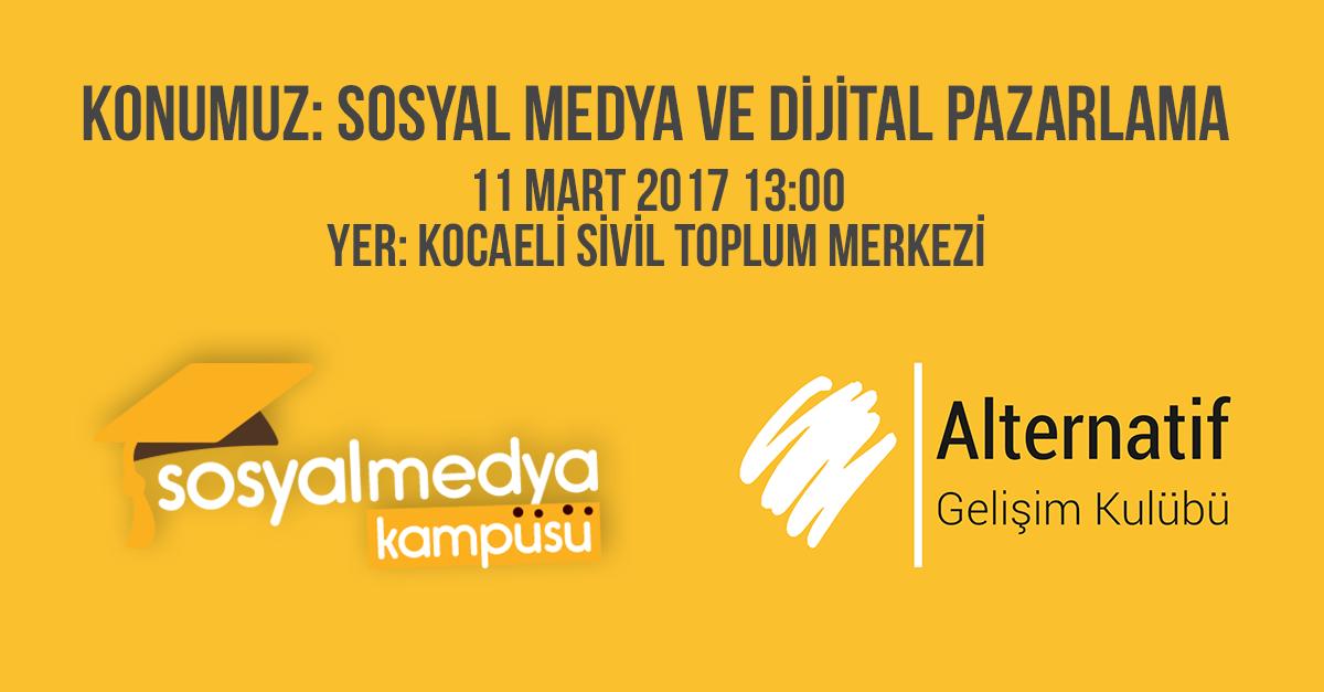 Sosyal Medya Kampüsü Kocaeli Üniversitesi'nde!