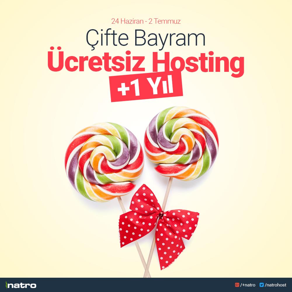 Bayram 'a Özel + 1 Yıl Ücretsiz Hosting Kampanyası