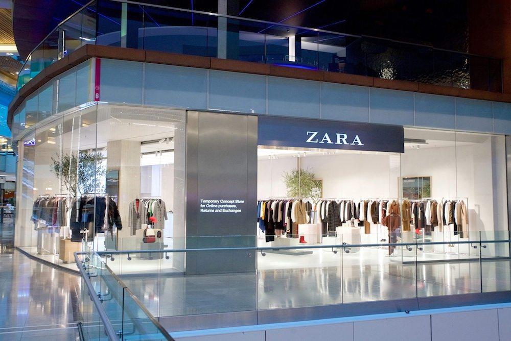 Zara'nın İlk E-Ticaret Konseptli Mağazasını Biliyor Musunuz?